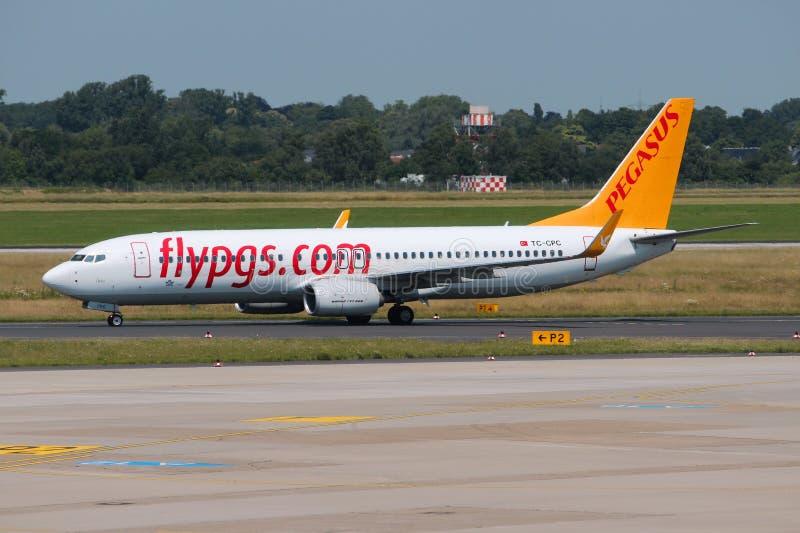 Pegasus Airlines royalty-vrije stock afbeeldingen