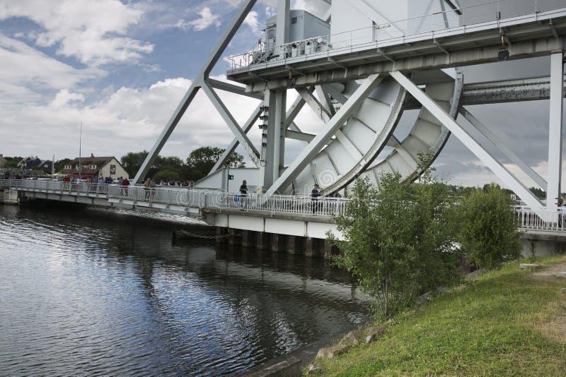 Pegasus-Brücke lizenzfreie stockbilder
