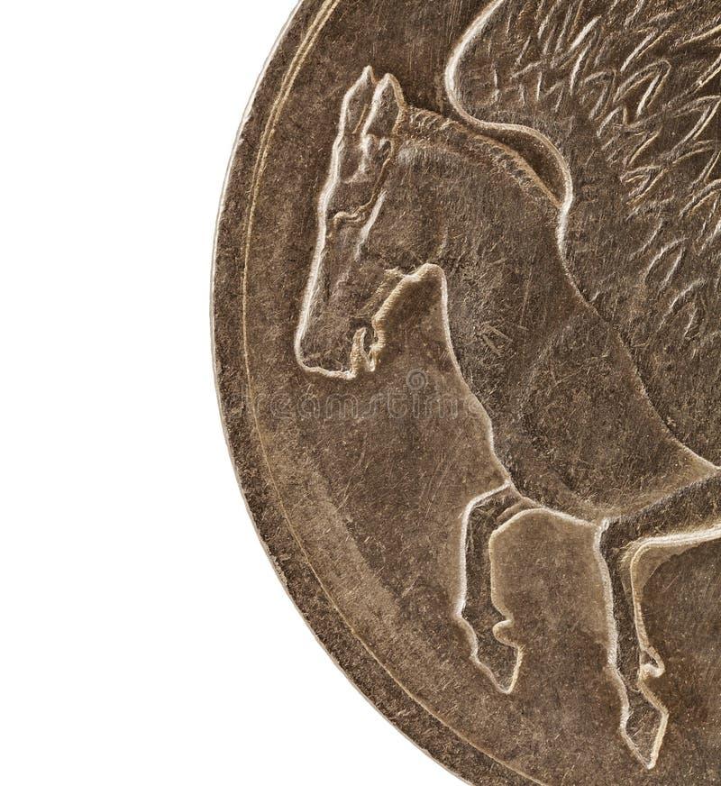 Pegasus, cavallo alato immagine stock