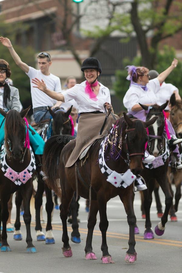 The Pegasus Parade 2018 stock image