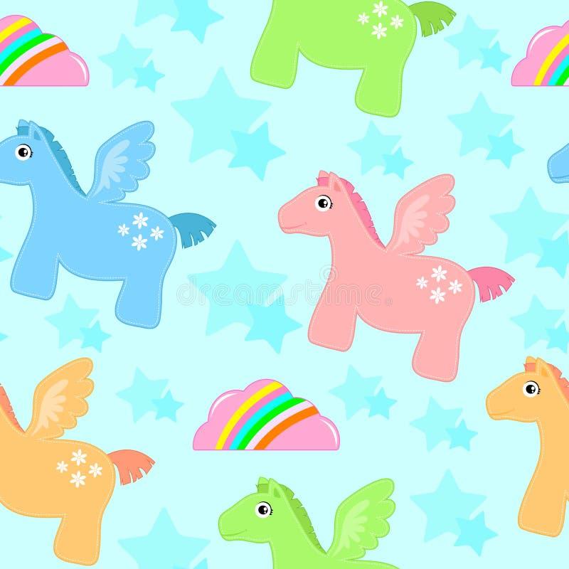 Pegasus Pattern Stock Photo