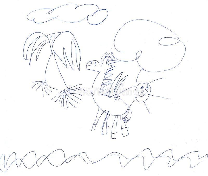 Pegasus and Pigeon stock image