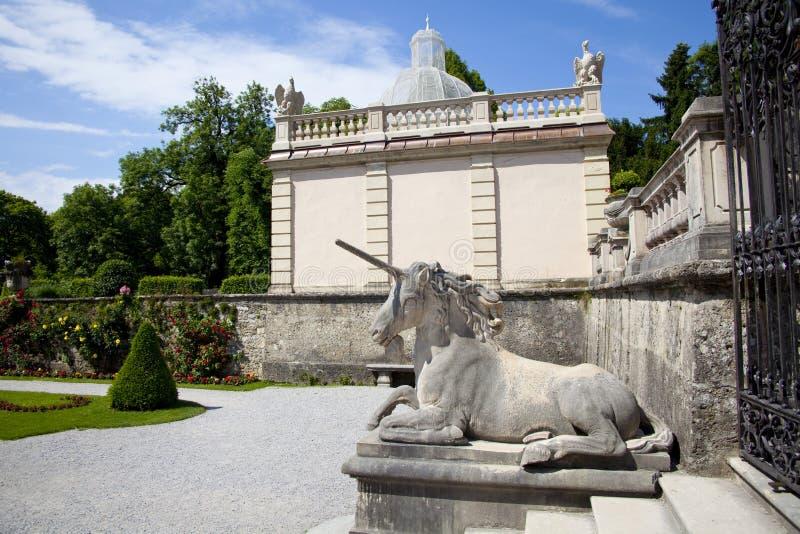 Pegasus in Salzburg gardens royalty free stock photography