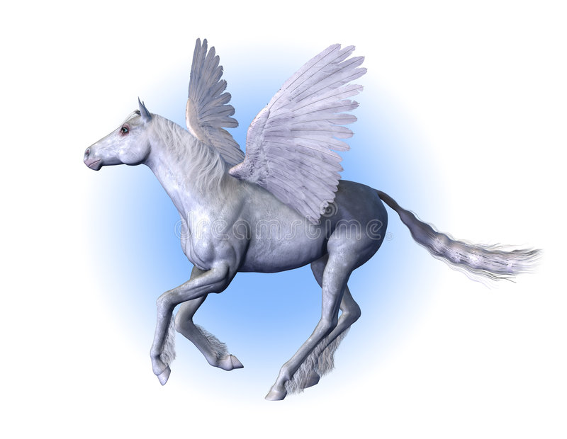 Pegasus - Winged Horse vector illustration