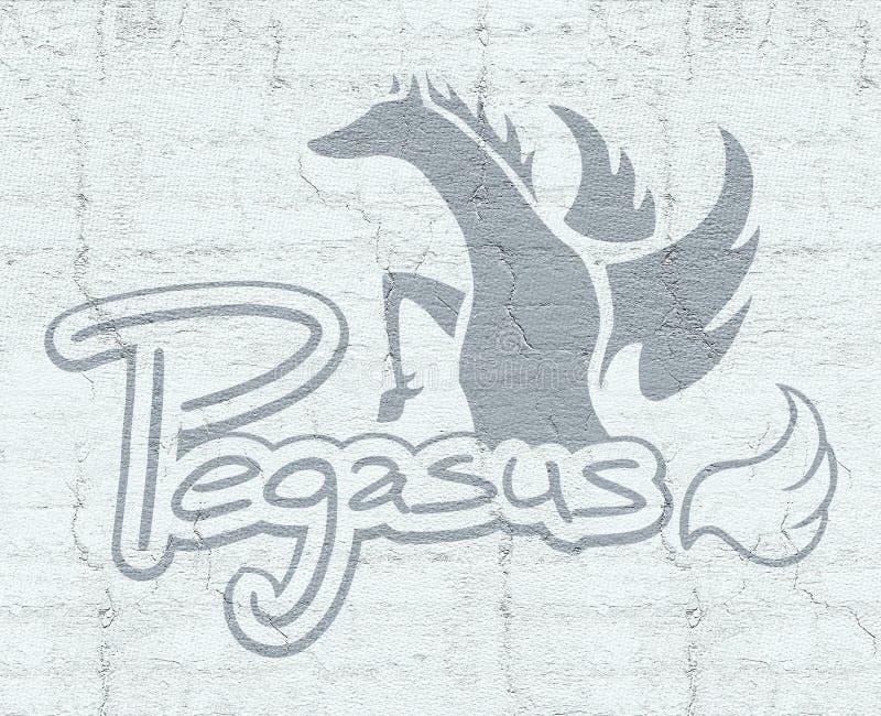 Pegasussymbool vector illustratie