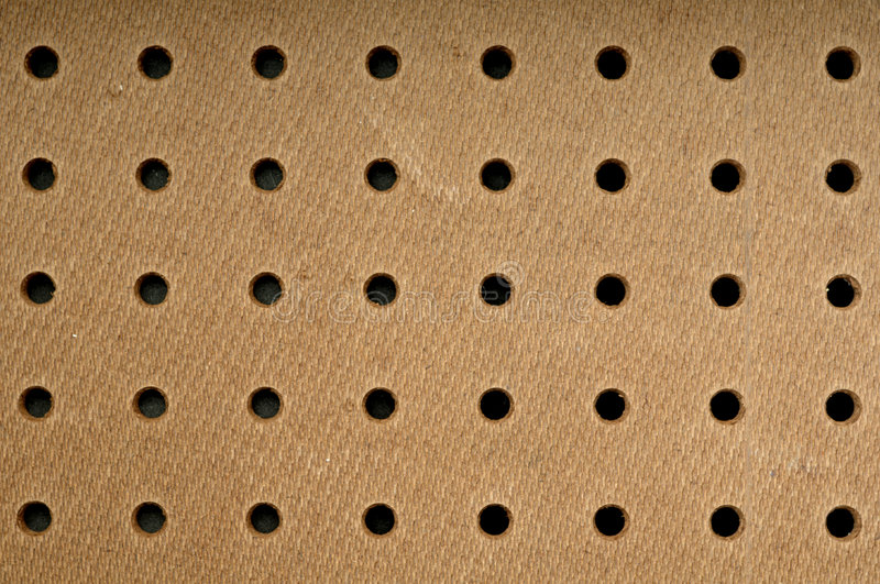 Pegboard background stock photo