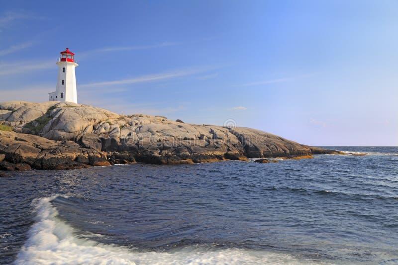 Peggy Cove Lighthouse, Nova Scotia stock images