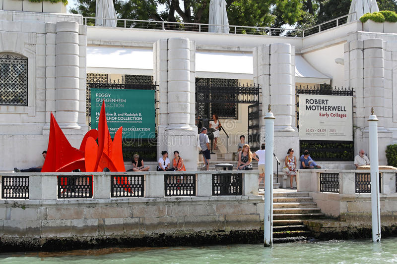 Peggy Guggenheim Collection stock image