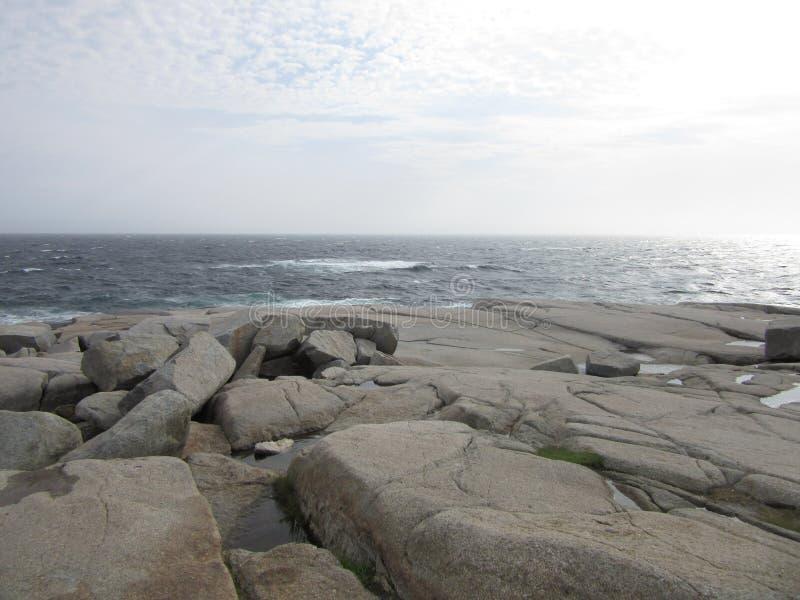 Peggy-` s Bucht, Nova Scotia, Kanada stockbild
