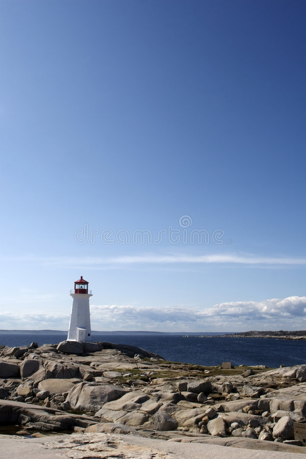 Download Peggy's Cove Lighthouse Stock Photography - Image: 5715512