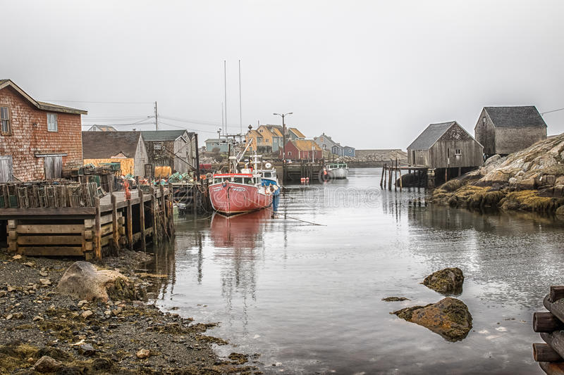 Peggy`s Cove stock image