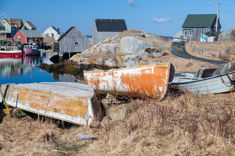Download Peggy's Cove stock photo. Image of nautical, fishing - 33136850