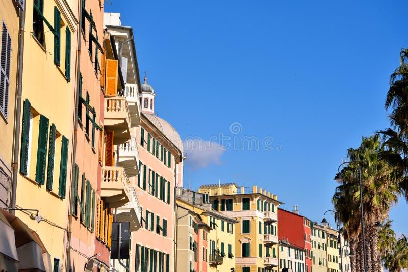 Pegli, Γένοβα, Ιταλία στοκ εικόνες με δικαίωμα ελεύθερης χρήσης