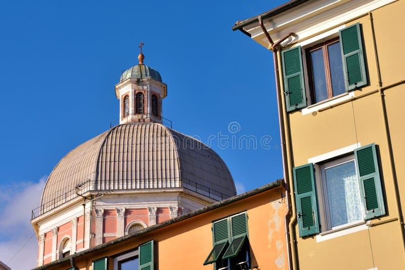 Pegli, Γένοβα, Ιταλία στοκ εικόνες