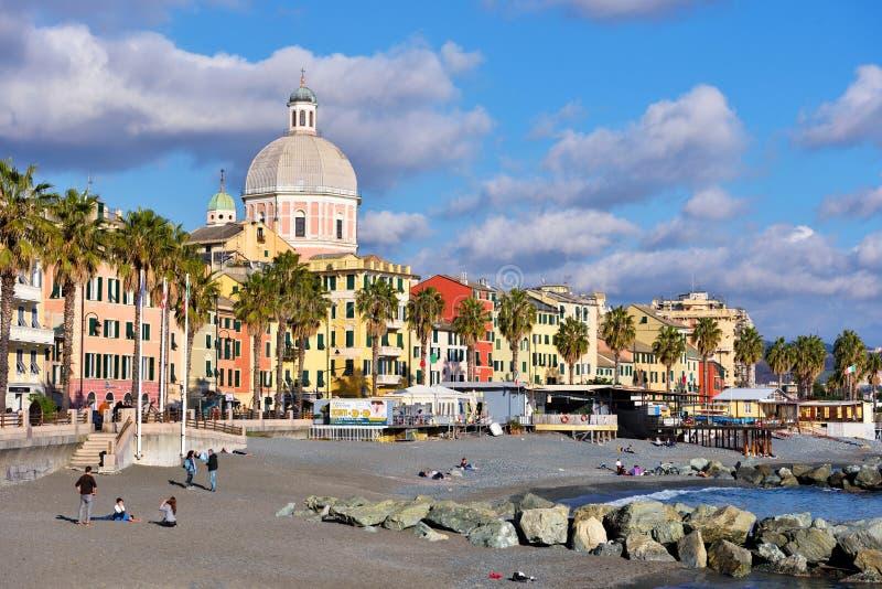 Pegli, Генуя, Италия стоковые фотографии rf