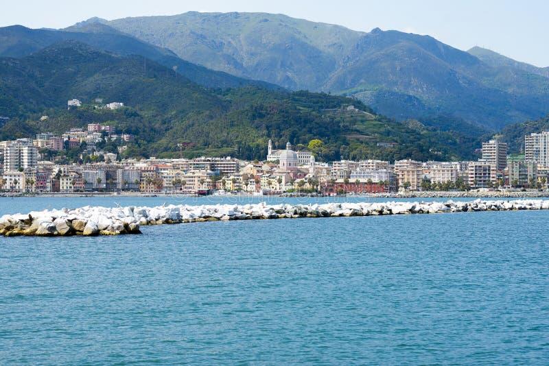 Pegli di Genova fotografia stock libera da diritti