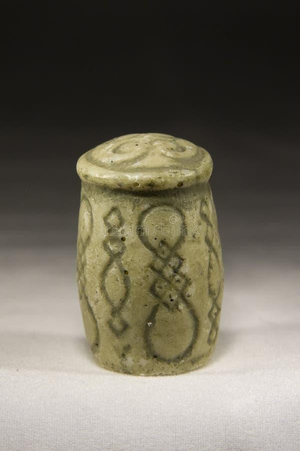 Pegno (pezzo degli scacchi antico) immagine stock