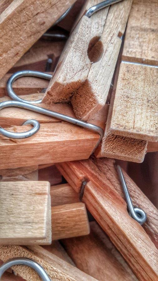 pegs деревянное стоковая фотография rf