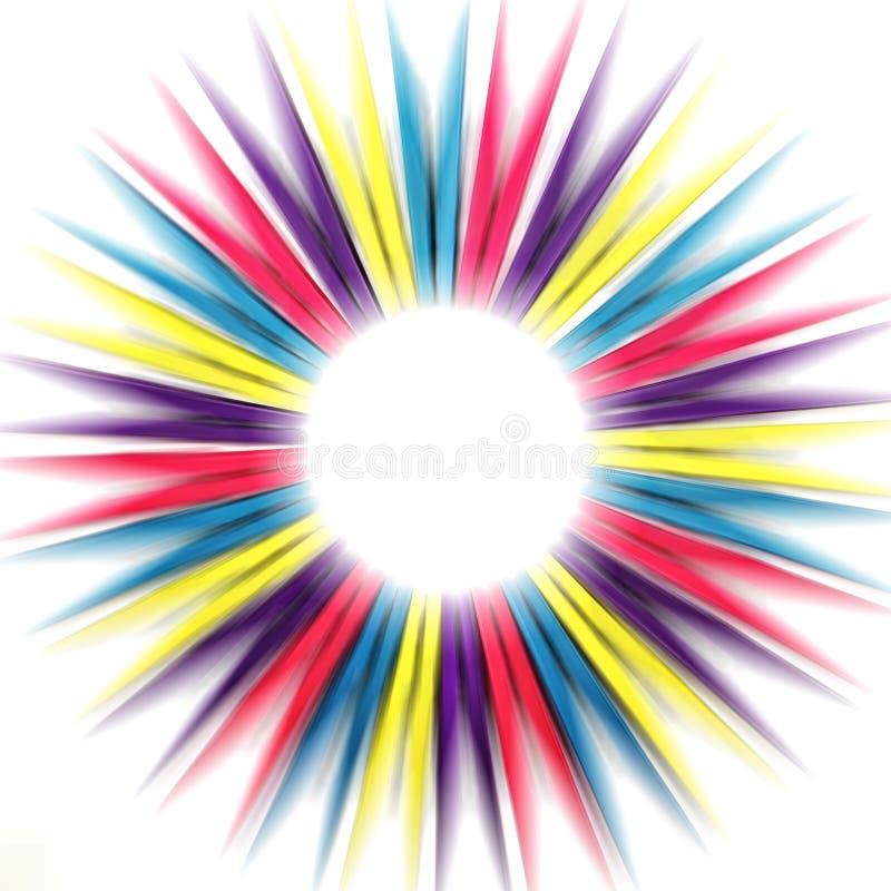 Pegs abstratos do arco-íris imagens de stock