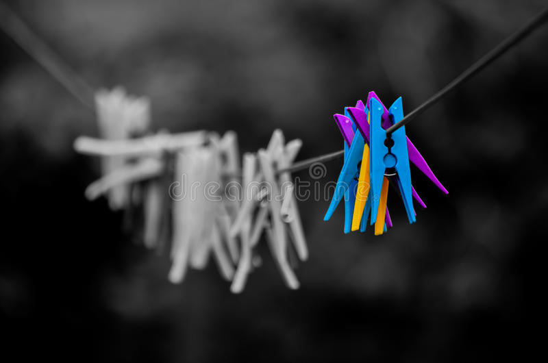 The Pegs royalty free stock photography