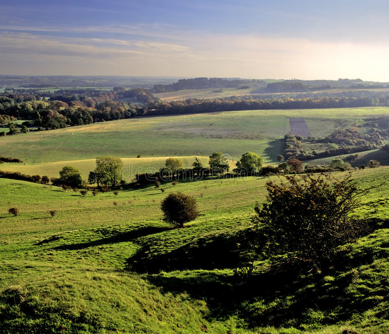 Download Pegston hills stock image. Image of home, green, counties - 2492791