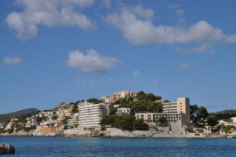 Peguera, Mallorca stock foto's