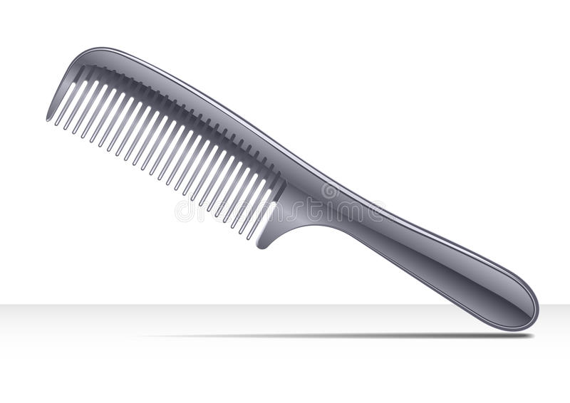 Peigne de cheveu   illustration de vecteur