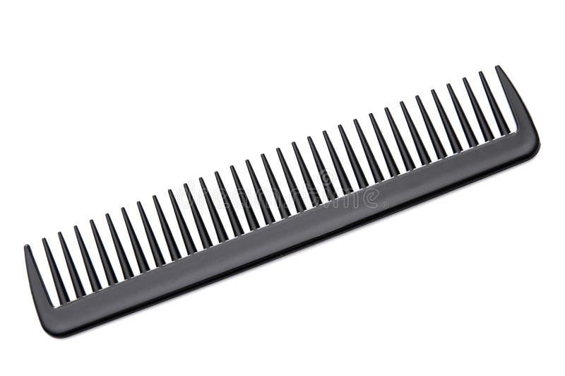 Peigne de cheveu noir photos stock