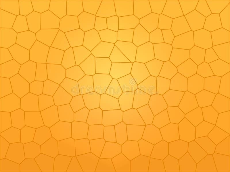 Peigne de miel illustration libre de droits