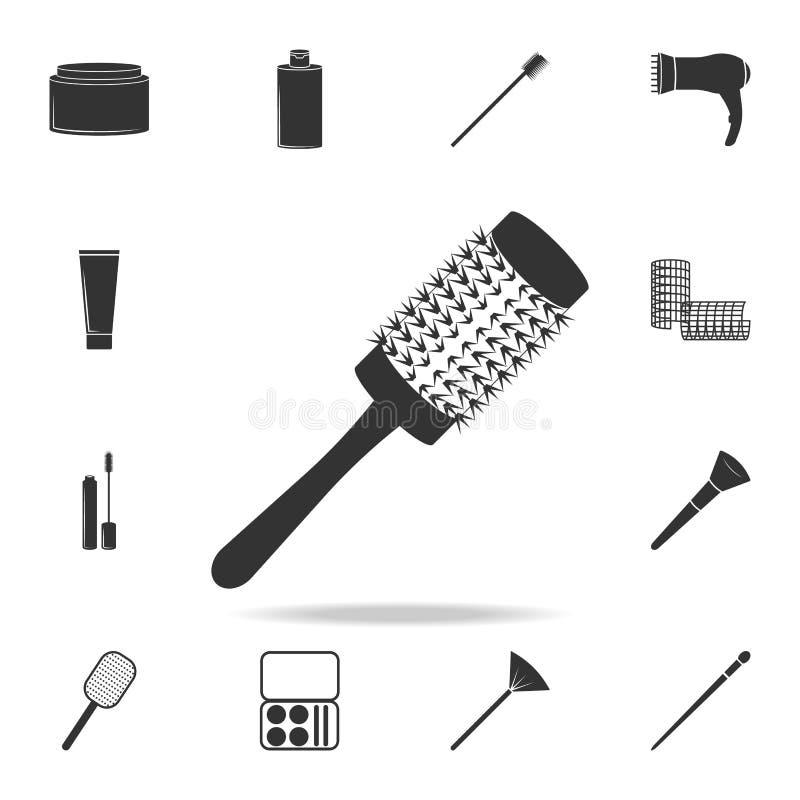 Peigne pour dénommer l'icône Ensemble détaillé d'icônes de salon de beauté Icône de la meilleure qualité de conception graphique  illustration de vecteur