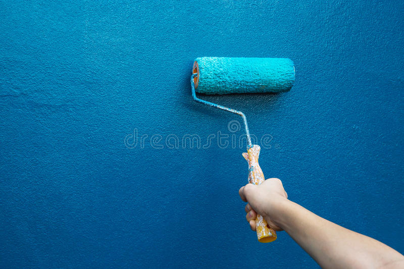 Peignez la maison image stock
