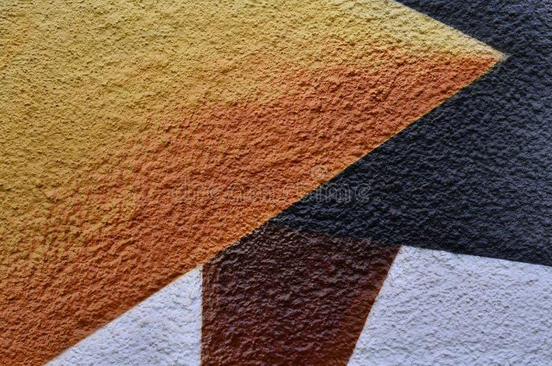 Peignez le textile coloré texturisé par fond photos libres de droits