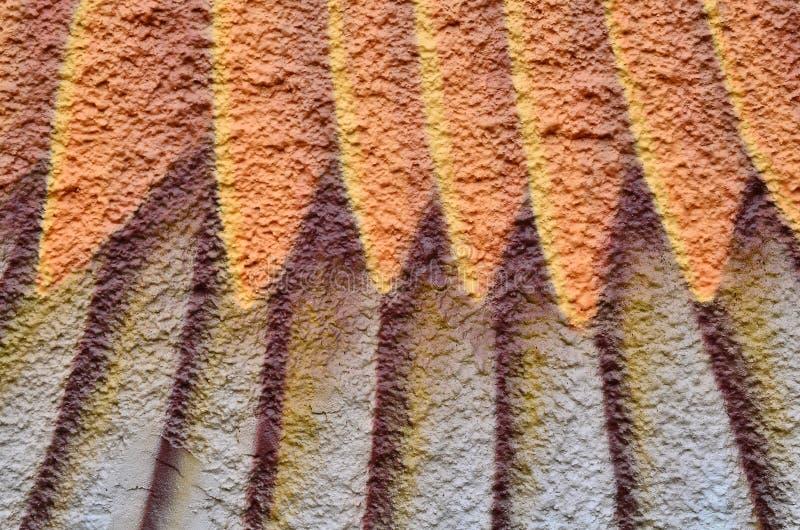 Peignez le textile coloré texturisé par fond photo stock
