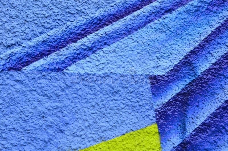 Peignez le textile coloré texturisé par fond photographie stock libre de droits
