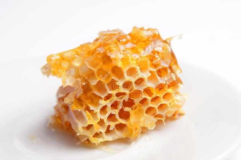 Peine de la miel imagen de archivo libre de regalías