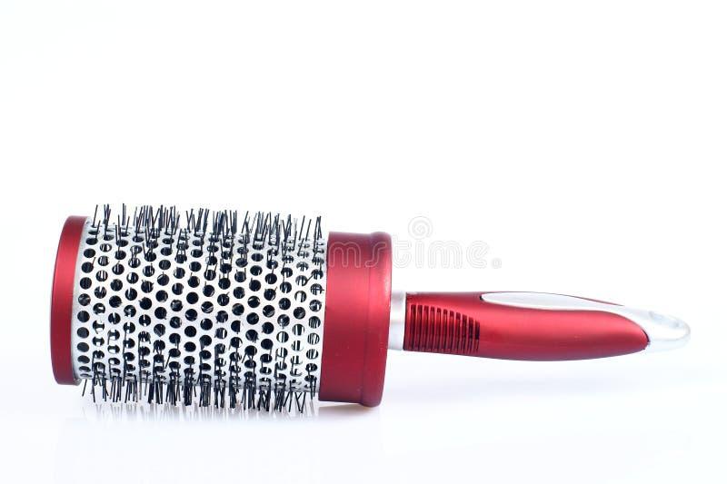 Download Peine redondo rojo foto de archivo. Imagen de objeto, hairbrush - 7280014