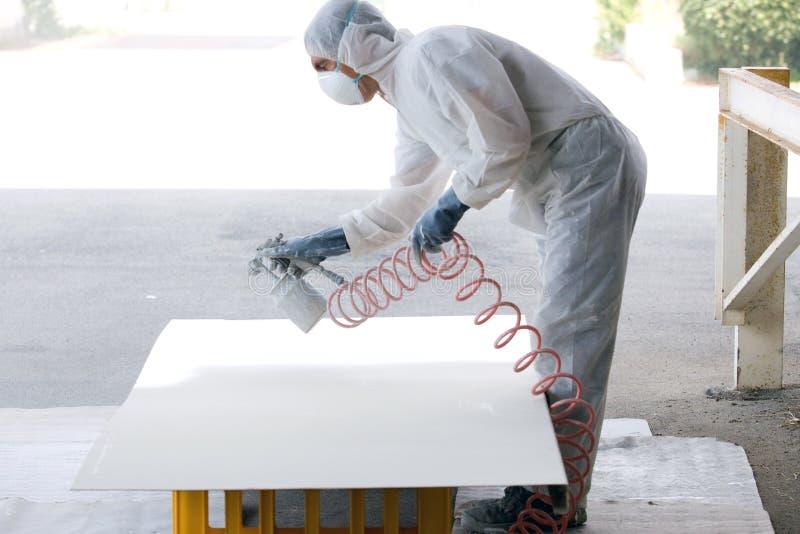 Peintre image stock