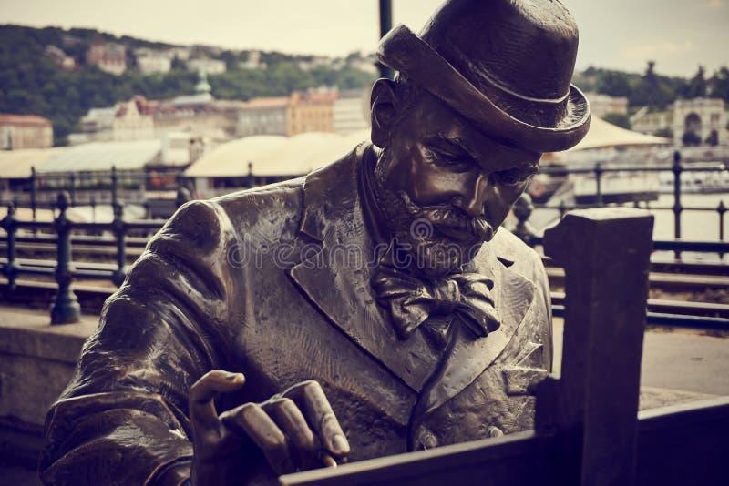 Peintre de Budapest photos libres de droits