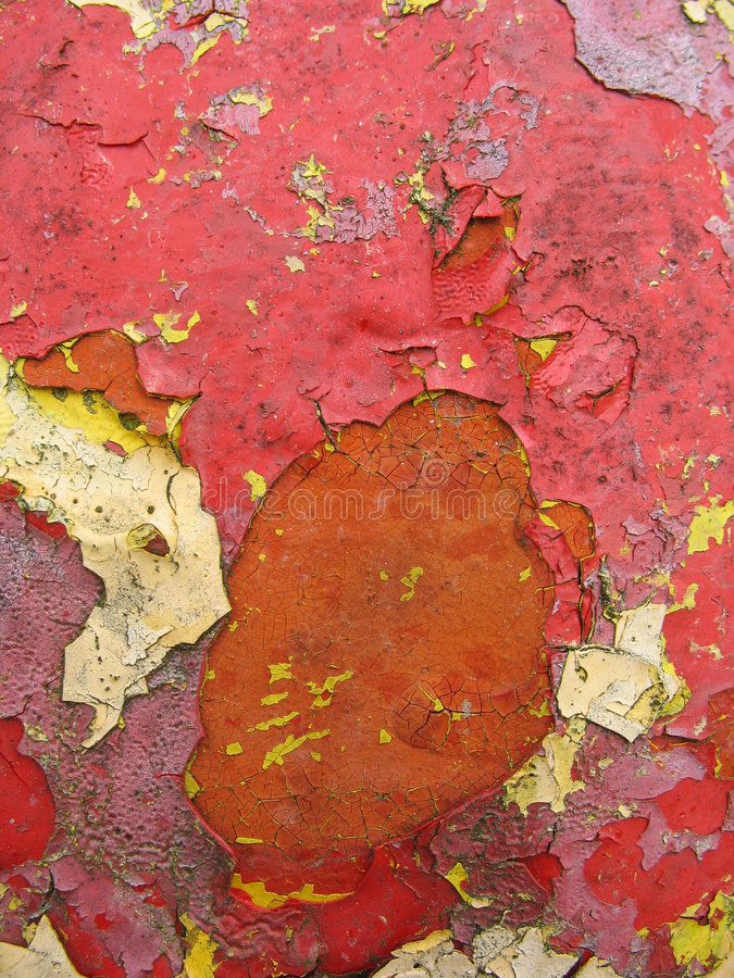 Peinture ébréchée illustration stock