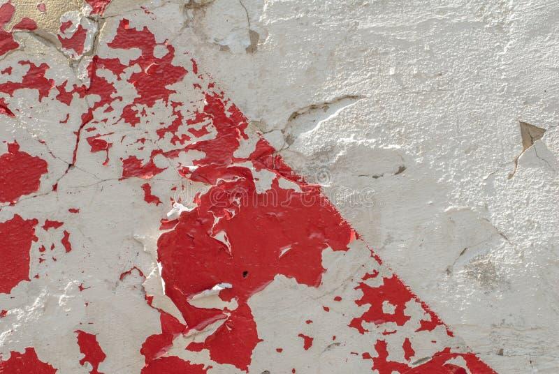 Peinture Ébréchée Sur Un Vieux Mur De Plâtre, Un Style De Paysage