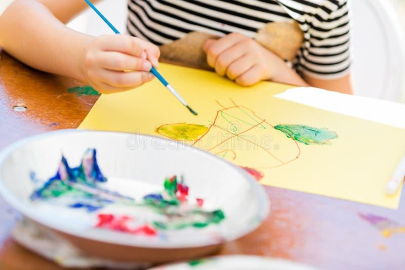 Download Peinture photo stock. Image du mille, balai, stationnement - 45371366