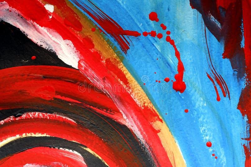 Peinture abstraite illustration stock