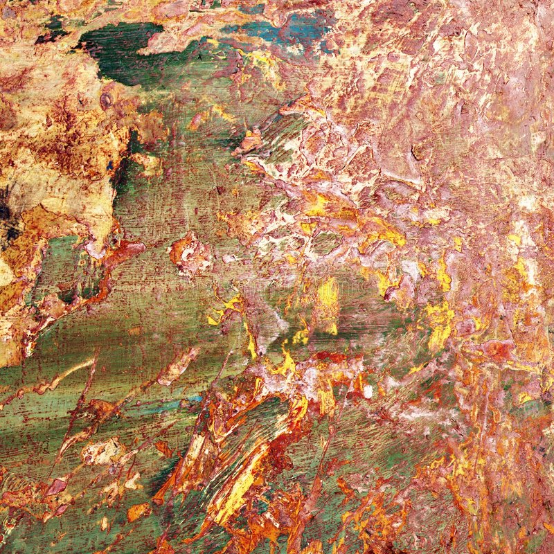 Peinture abstraite. photo stock