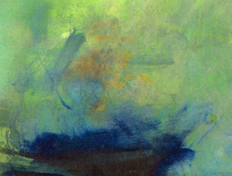Peinture abstraite de fond illustration libre de droits