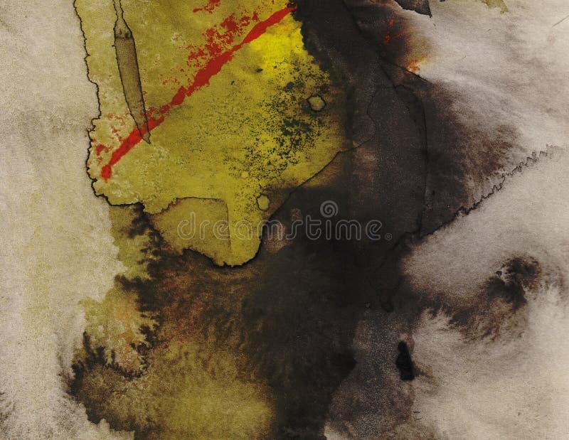 Peinture abstraite de fond photographie stock