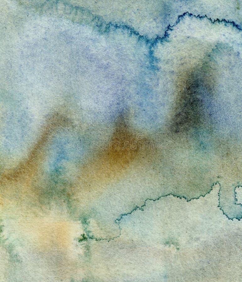 Peinture abstraite de fond image libre de droits