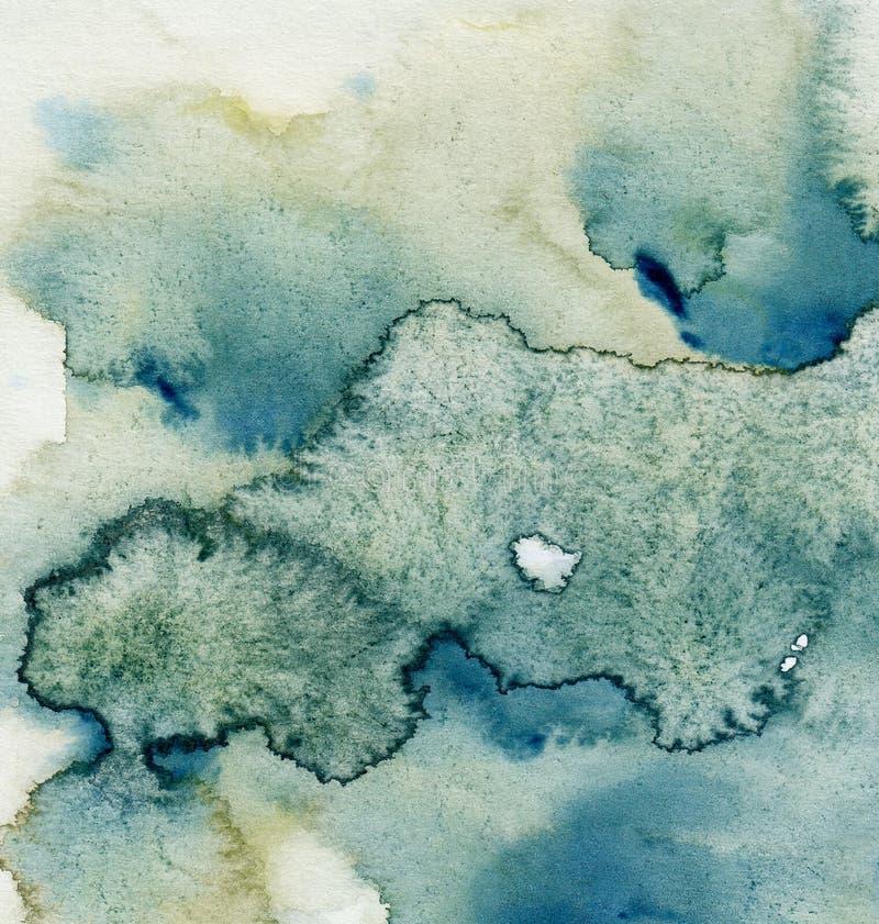 Peinture abstraite de fond images stock
