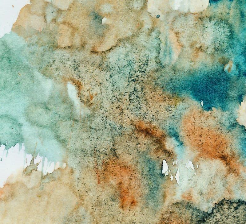 Peinture abstraite de fond image stock