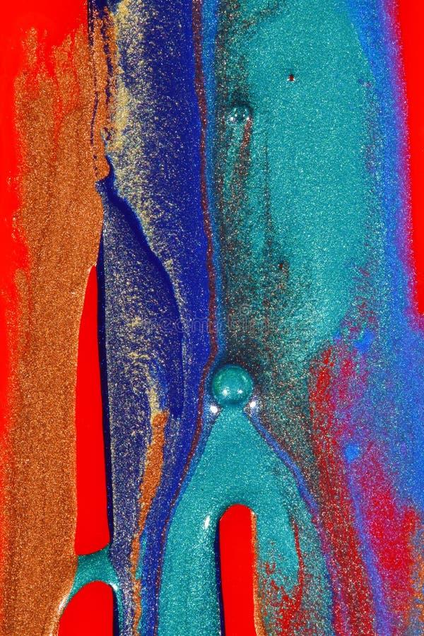 Peinture abstraite et scintillement images stock