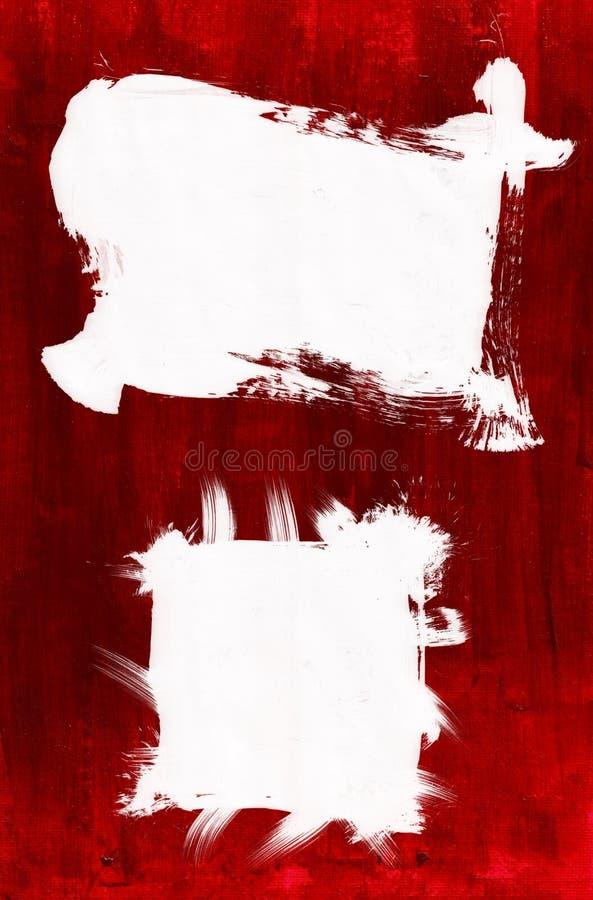 Peinture acrylique encadrée images stock